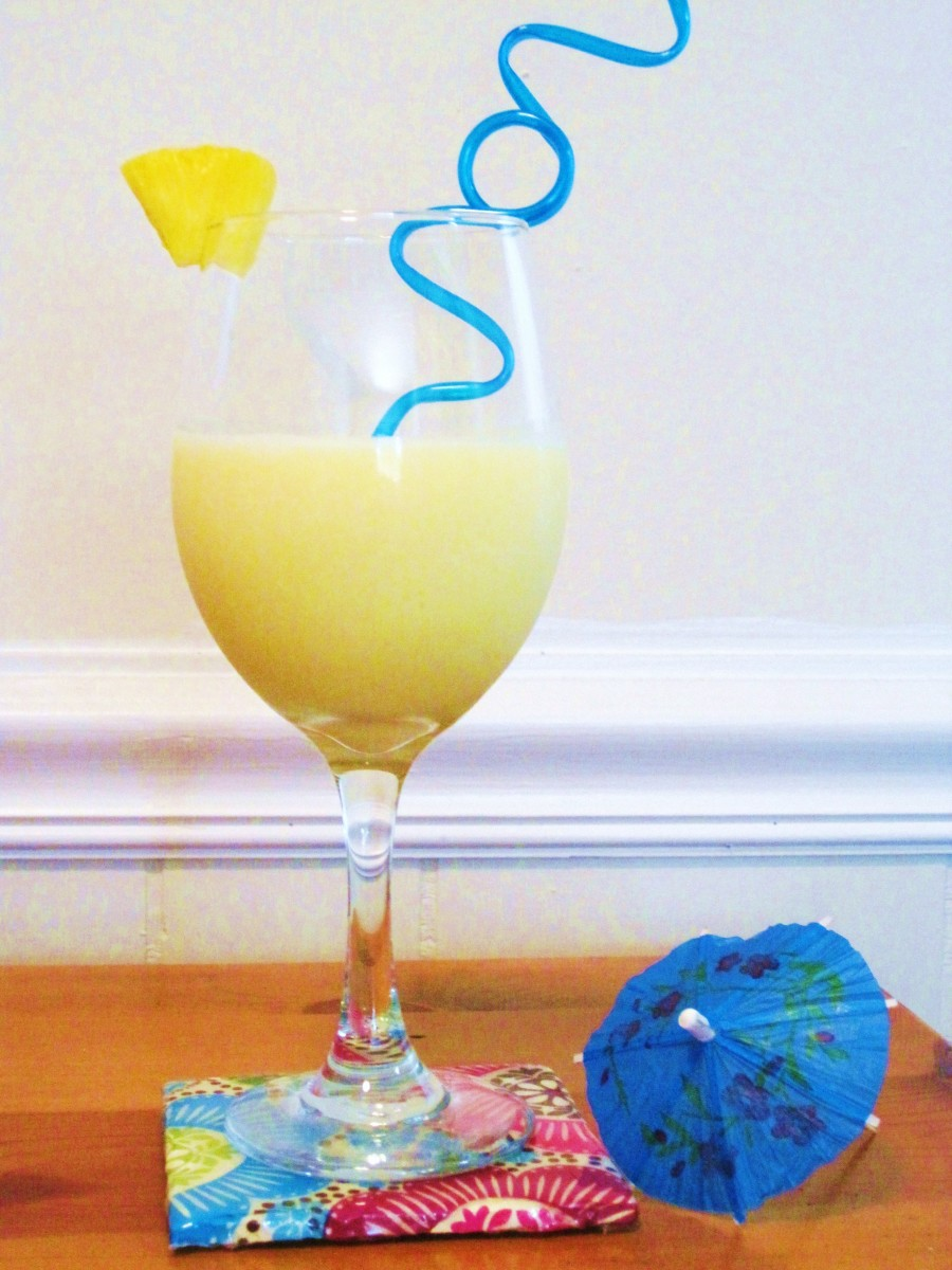 Non-Alcoholic Pina Colada: Recipes for Healthy Drinks with Coconut Water and Coconut Milk
