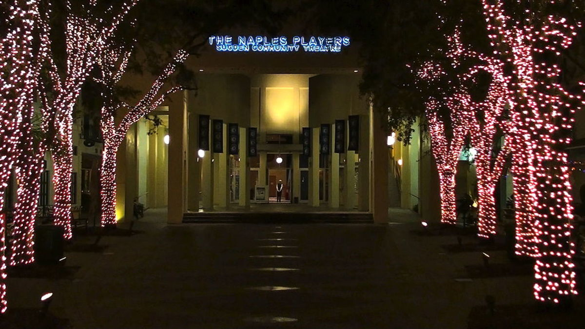 The Naples Players are a nationally recognized community theatre company who are based in Naples.  Founded in 1953, the company perform at the Sugden Community Theatre, located in downtown Naples.
