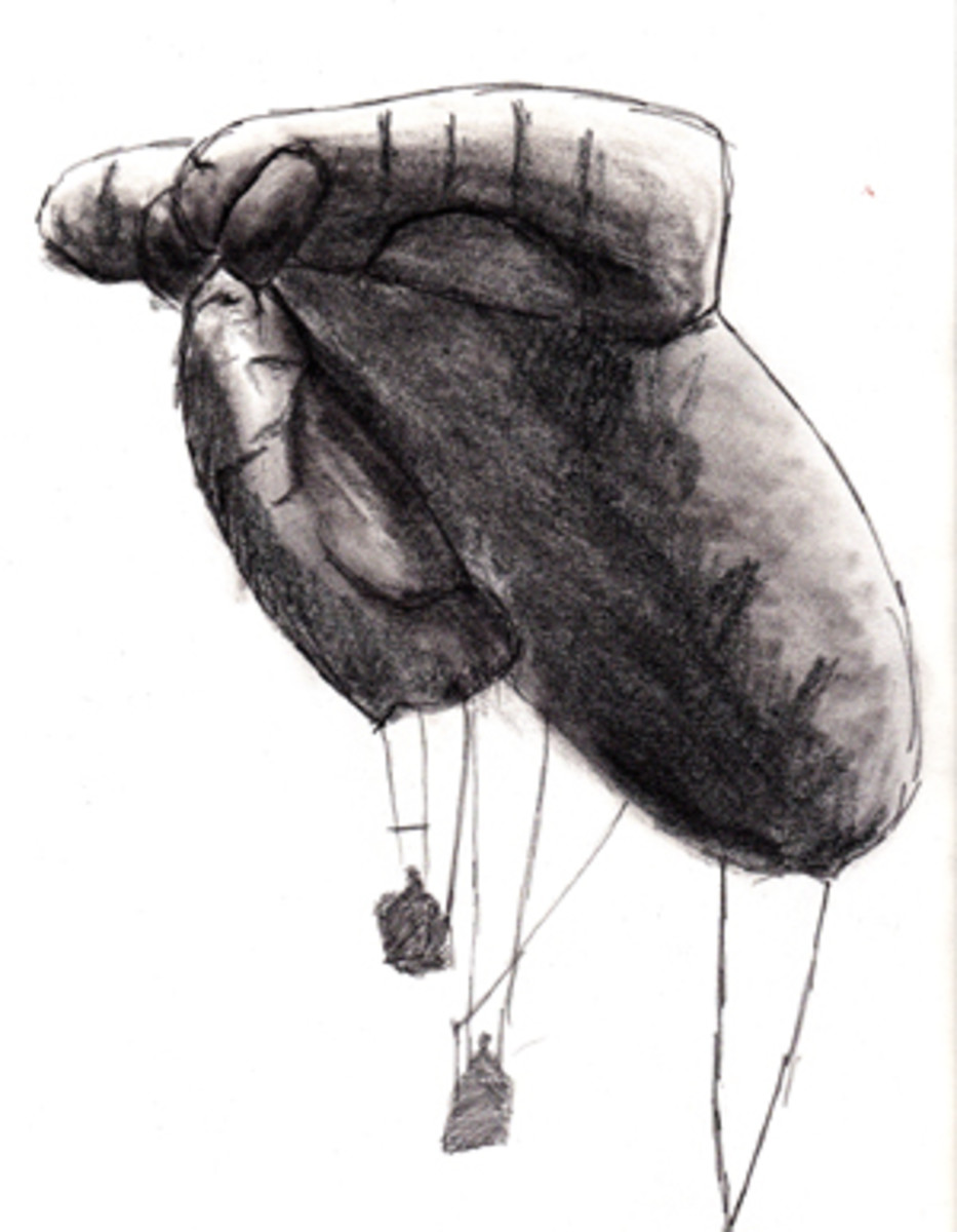 Over the Front in World War 1:  How Hard Can It Be to Shoot Down a Balloon?