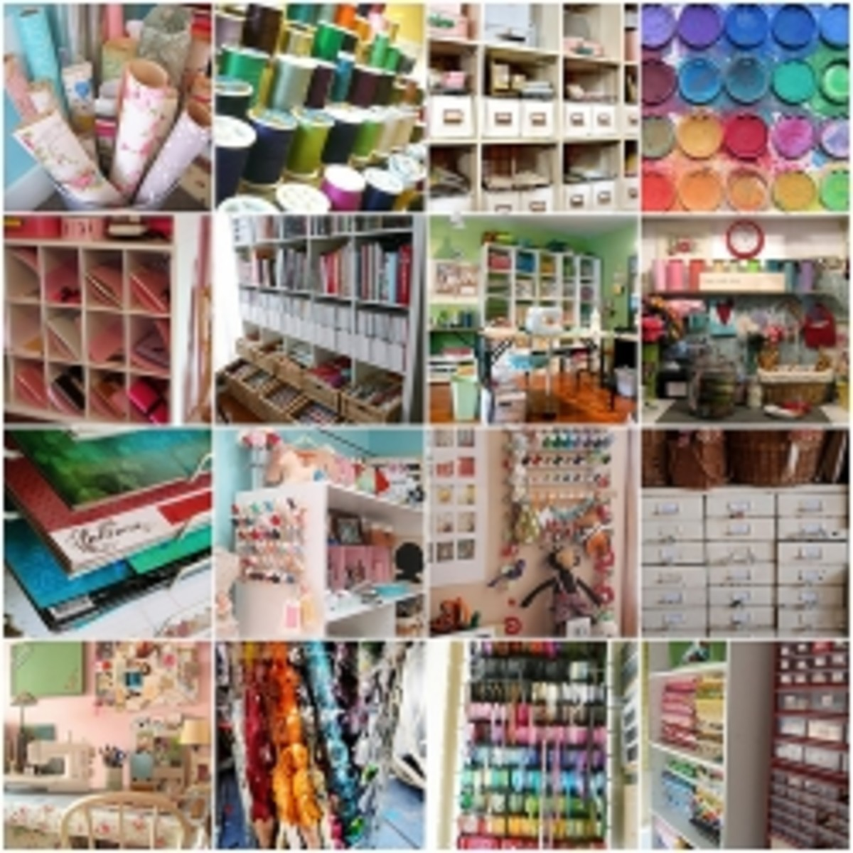 Craft Room Ideas, Designs and Organization