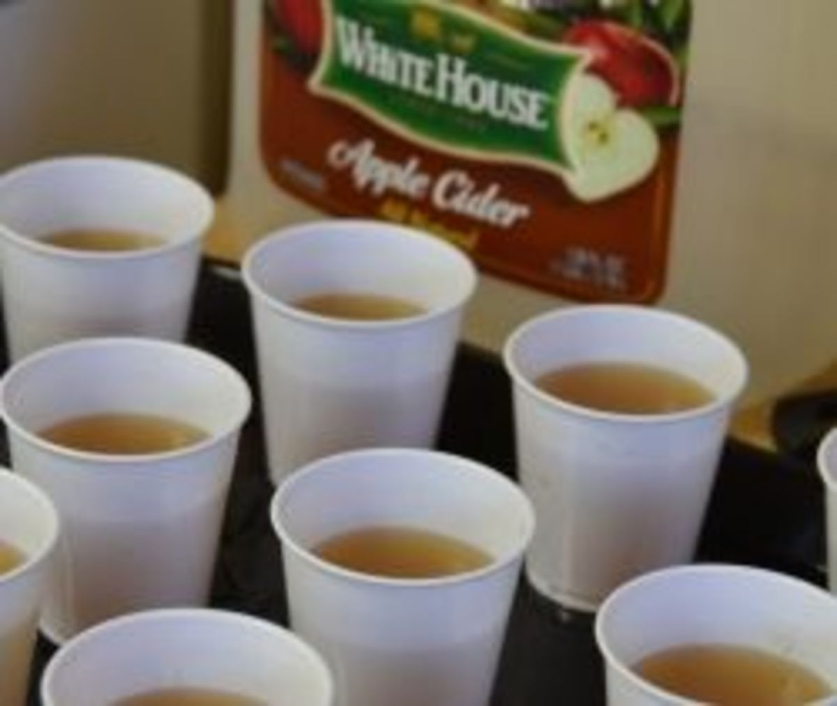 Apple Cider - Photo taken by Michelle Harrison, who participates in our class