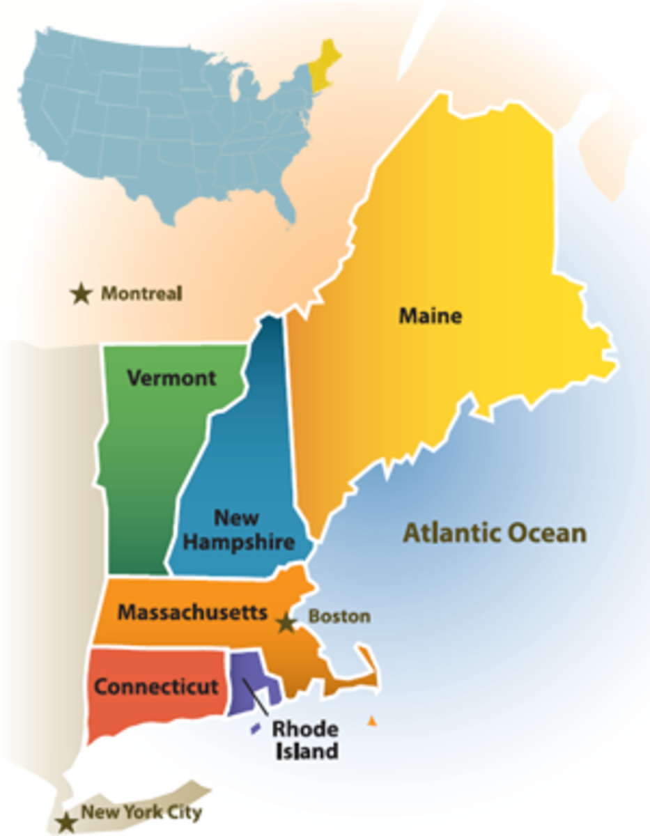 New England States Lesson HubPages