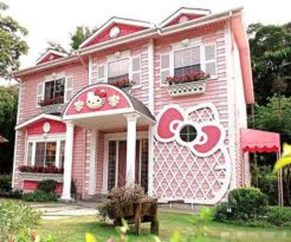 Hello kittys house in england