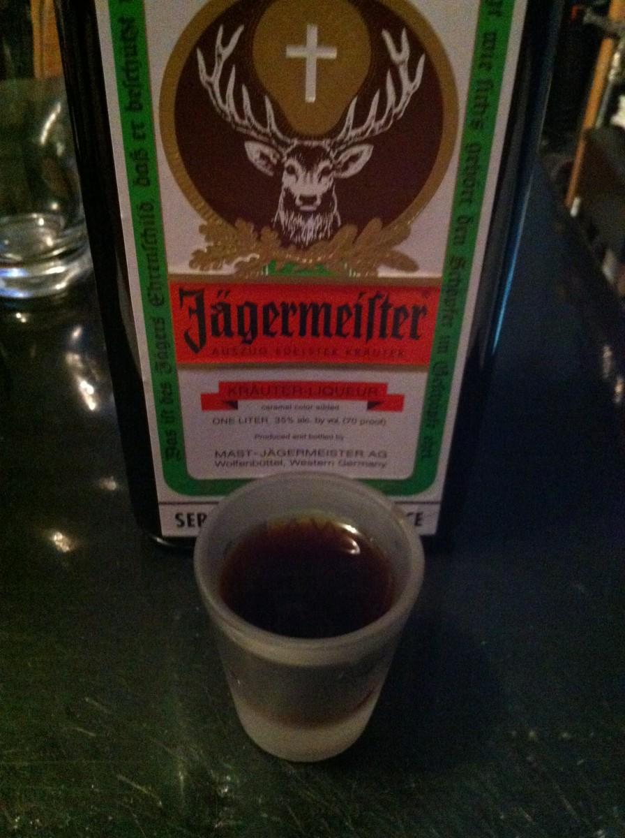 Shot of Jagermeister
