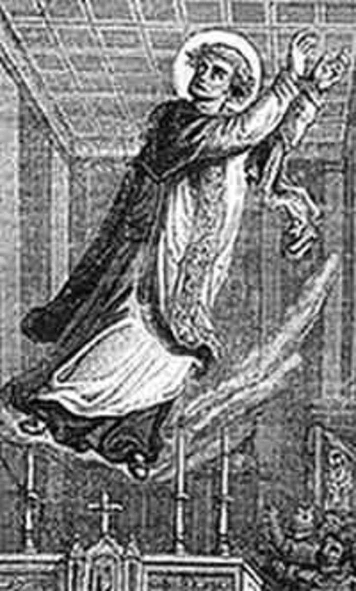 Image from Paul Guerrin, Les Petites Bollandistes: Vies de Saints, 1882