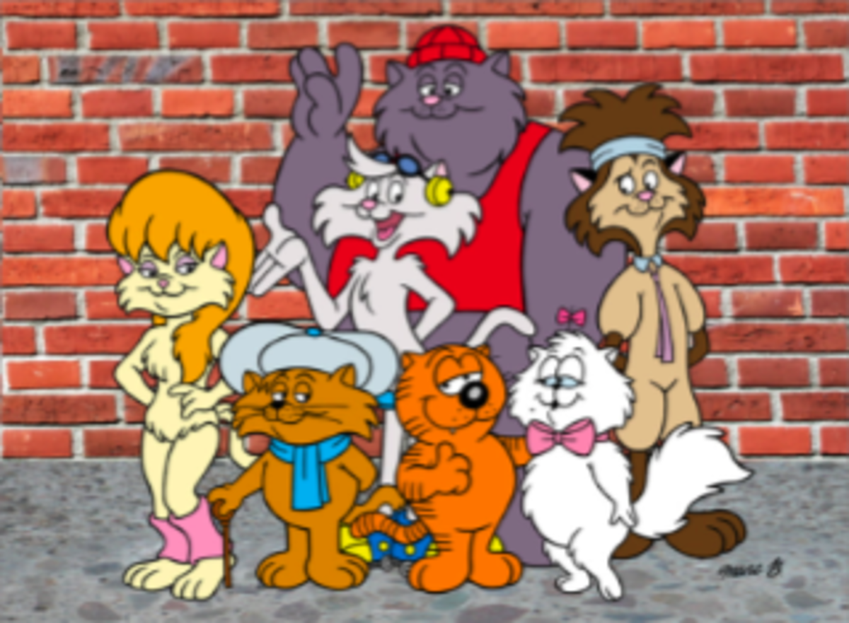 Heathcliff and the Catillac Cats - Born 1973 - By George Gately