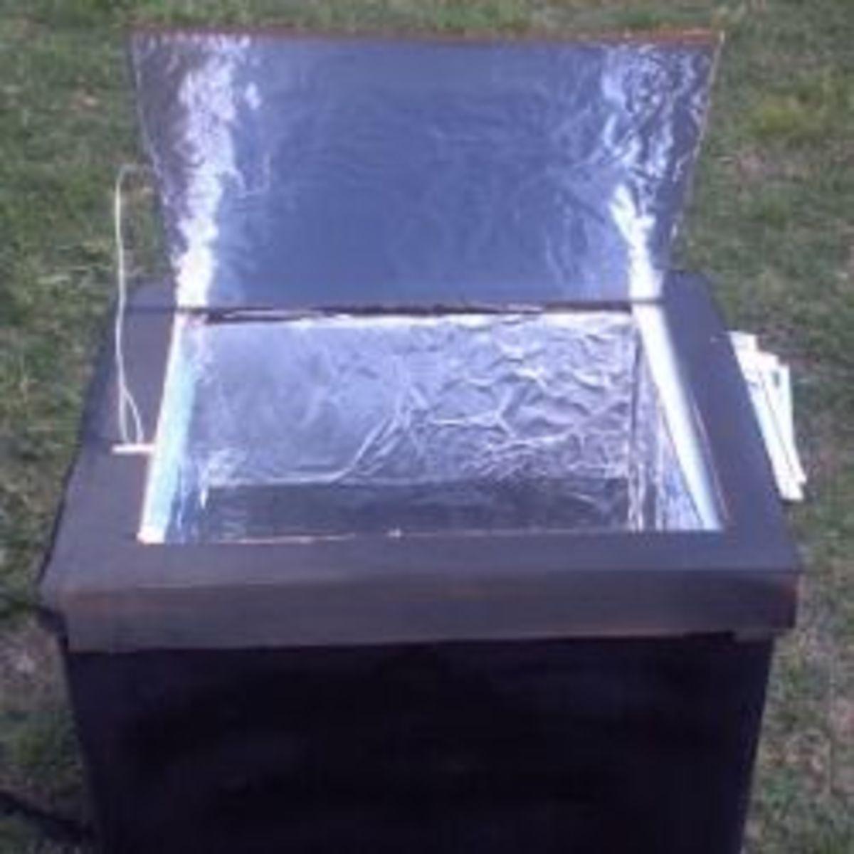 how to make solar cooker model
