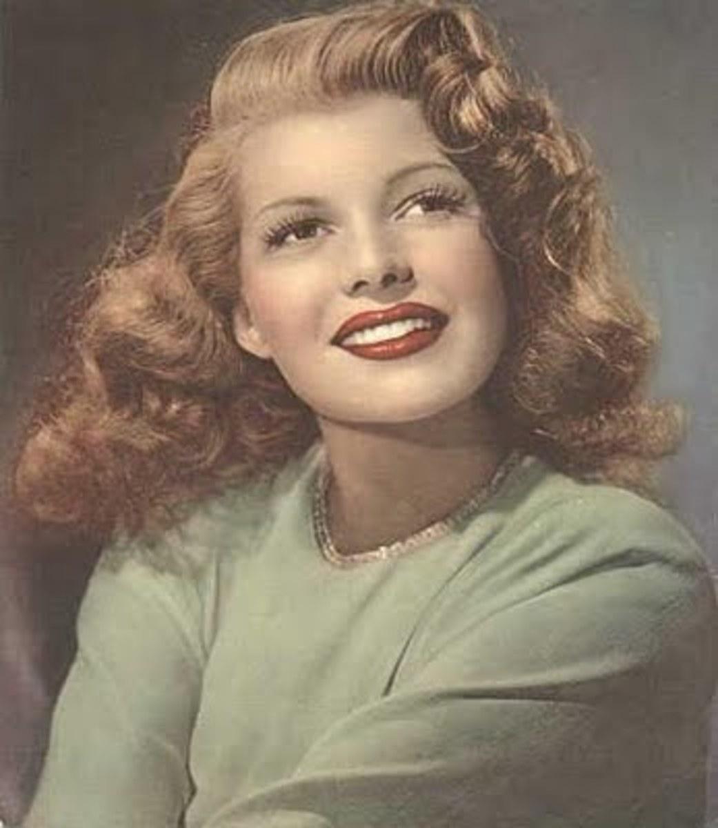 Rita Hayworth, Gilda, Pin up, and Alzheimer's