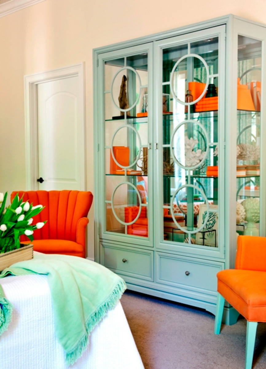 Turquoise Green Room Decorating Ideas