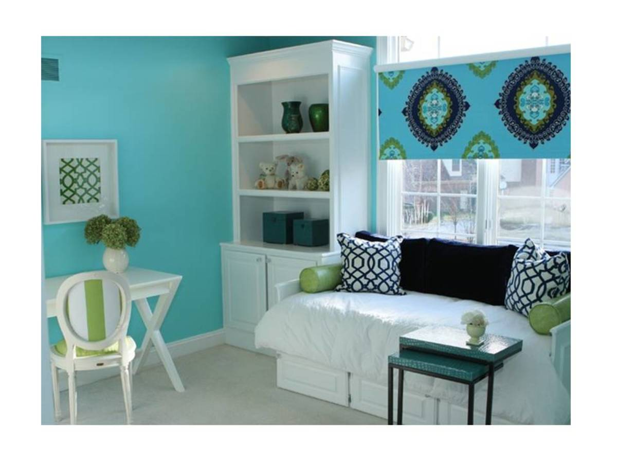 Turquoise Amp Green Room Decorating Ideas Hubpages