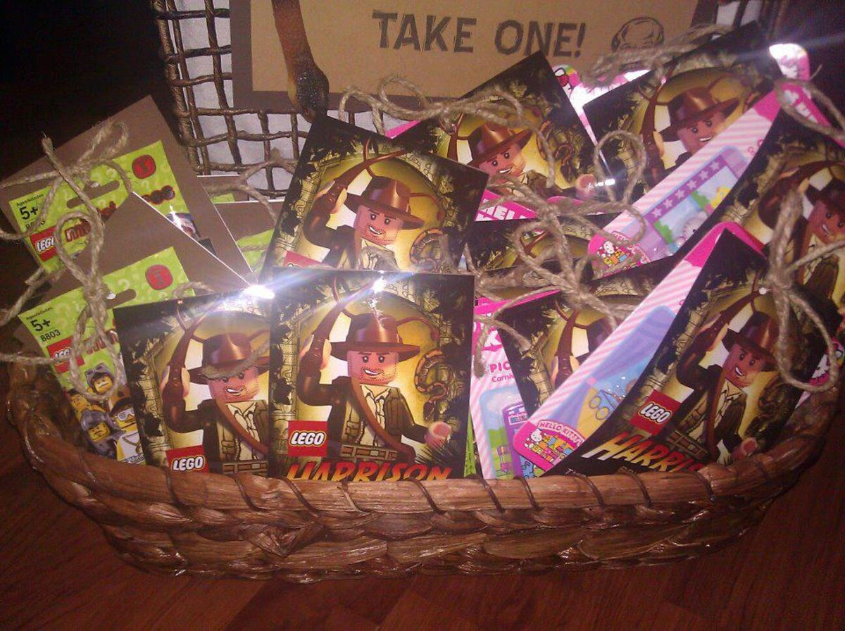 Indiana Jones Party Favors