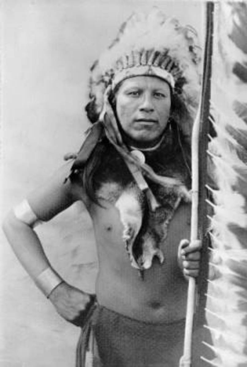 Apache Brave, Dulce New Mexico 1883