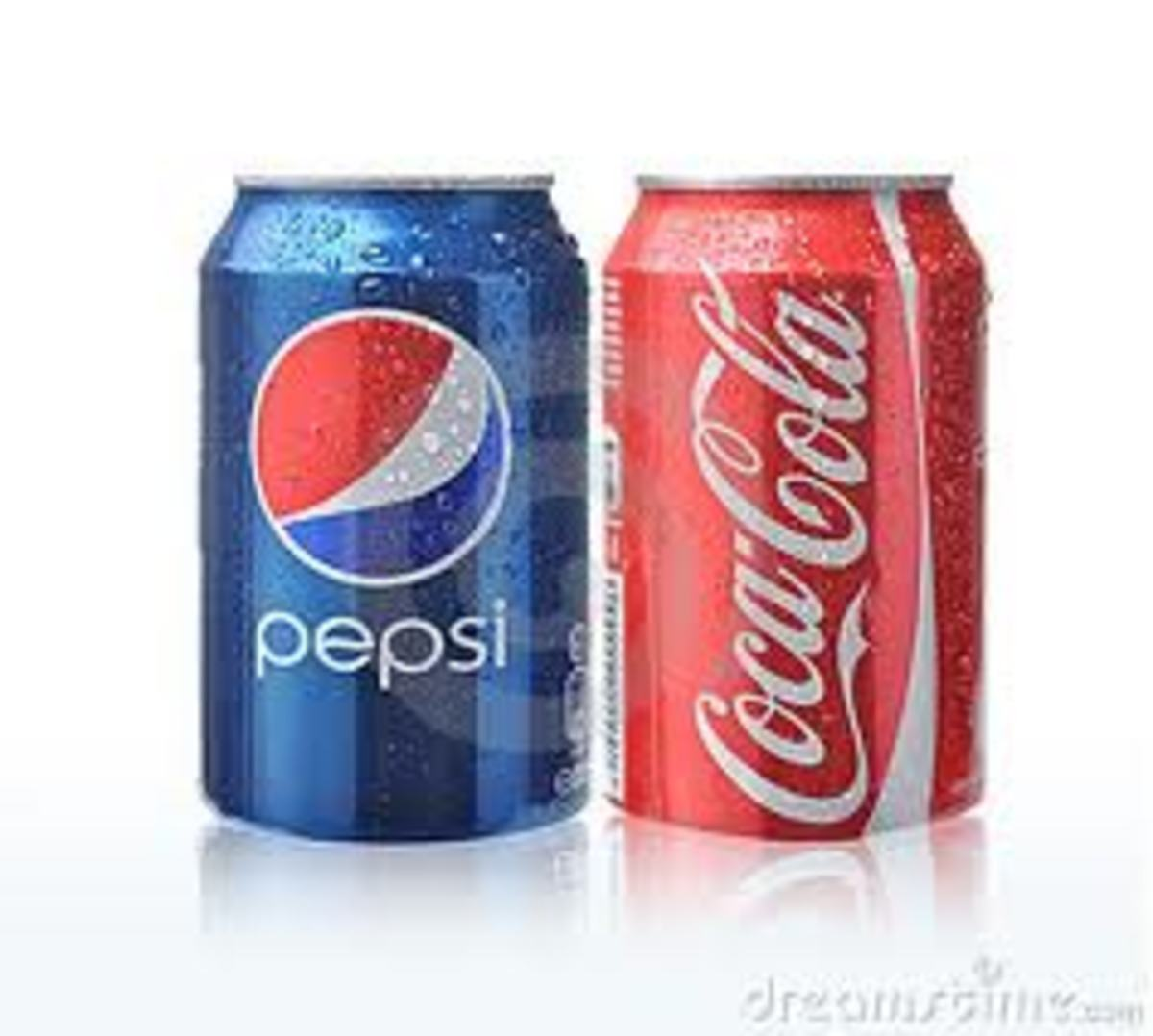 Better choices - Pepsi or Coca-Cola