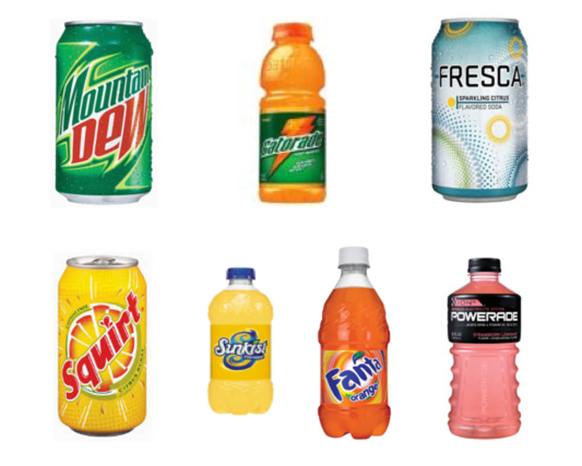 Other sodas containing BVO