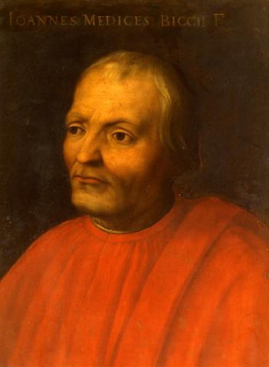 Portrait of Giovanni di Bicci de' Medici.