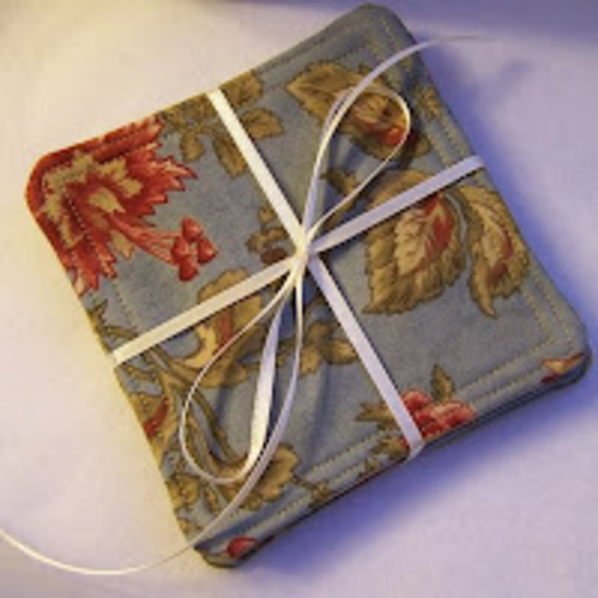 A set of coasters makes a lovely hostess gift.