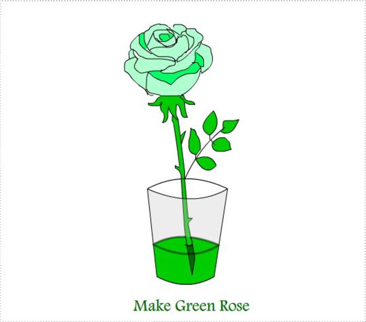 Make Green Roses