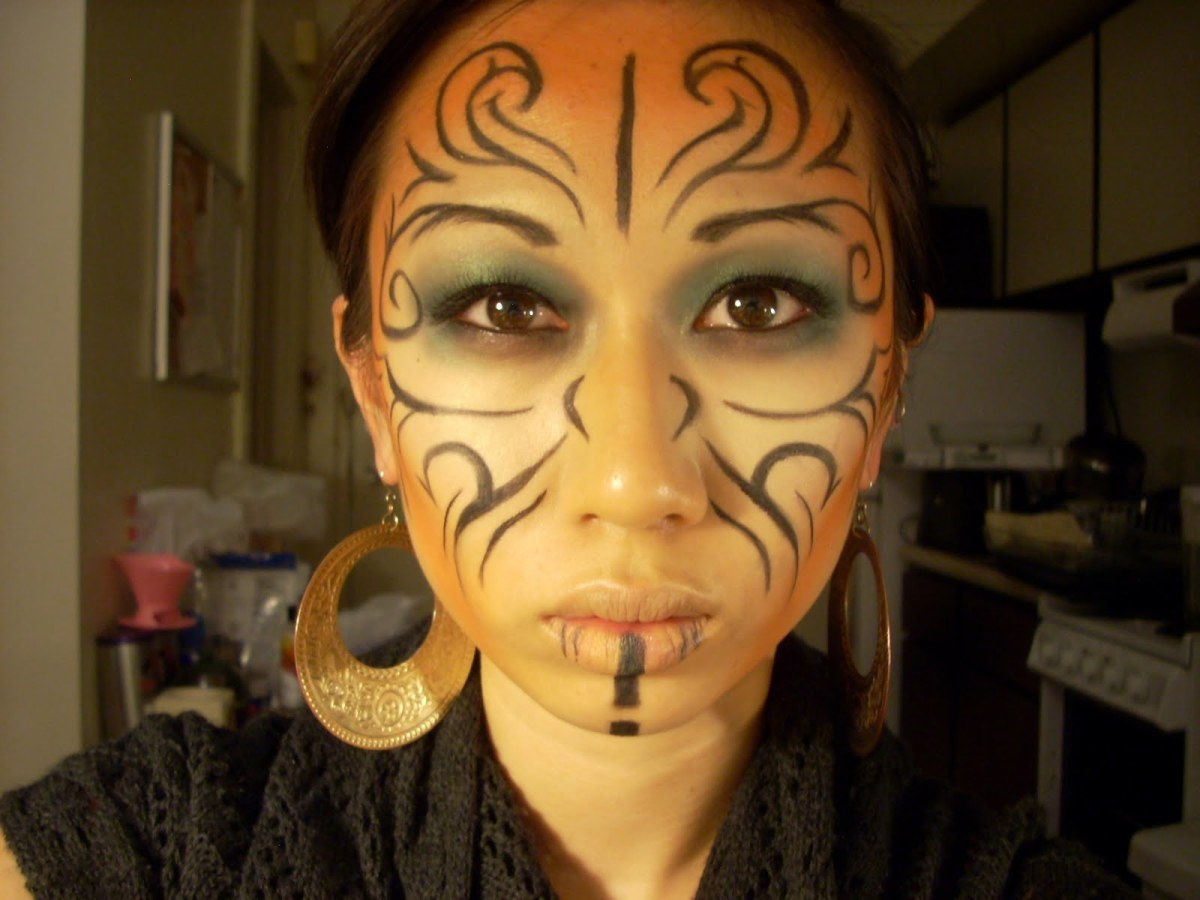 Tribal Makeup Designs Tips And Tutorials Hubpages