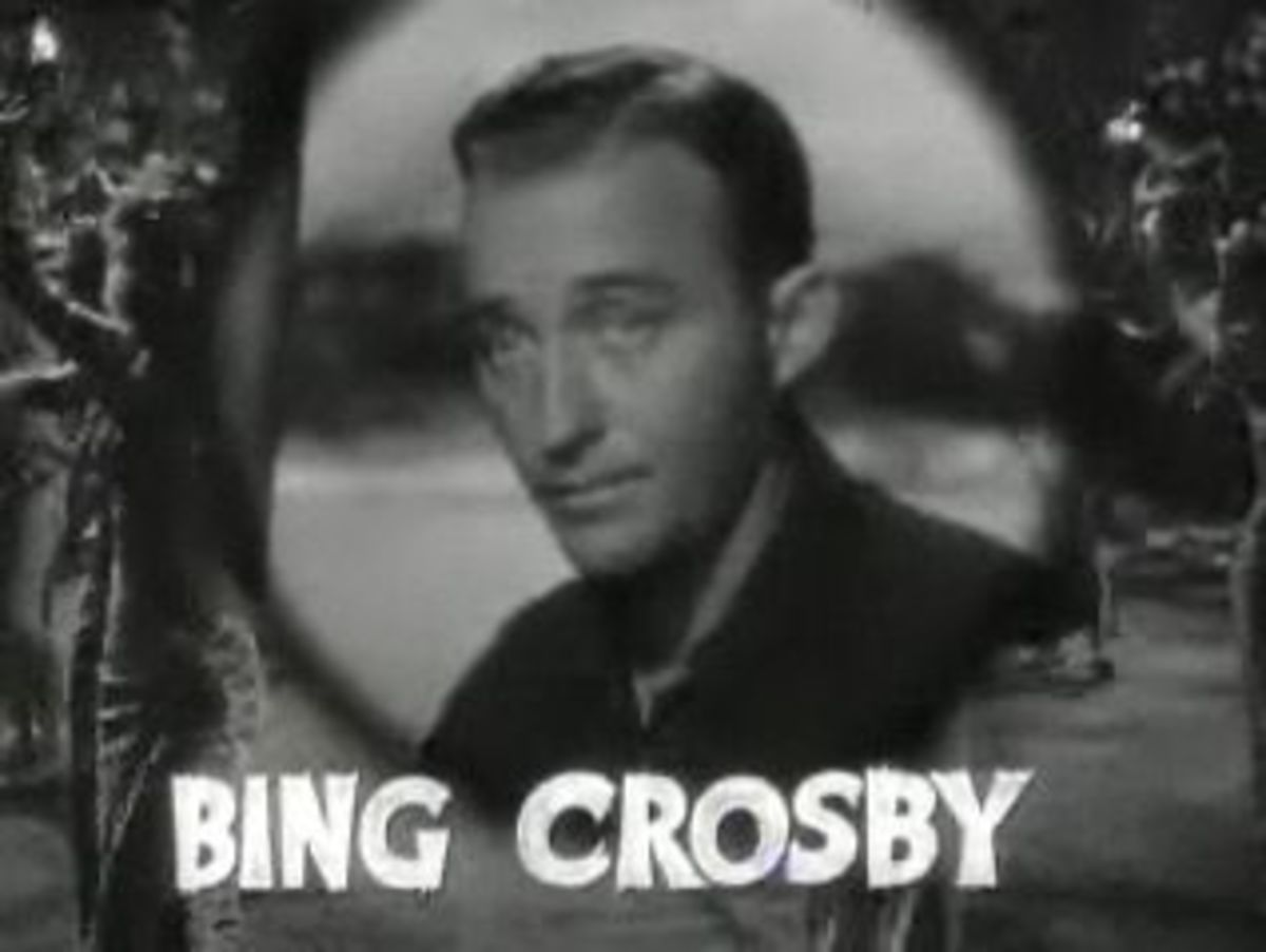 Bing Crosby - star of Holiday Inn and White Christmas