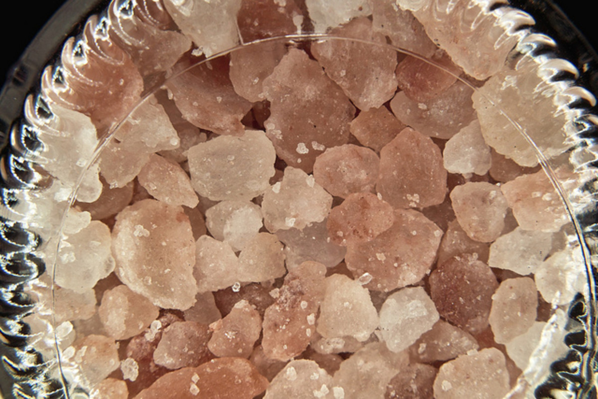 Himalayan crystal salt from Pakistan