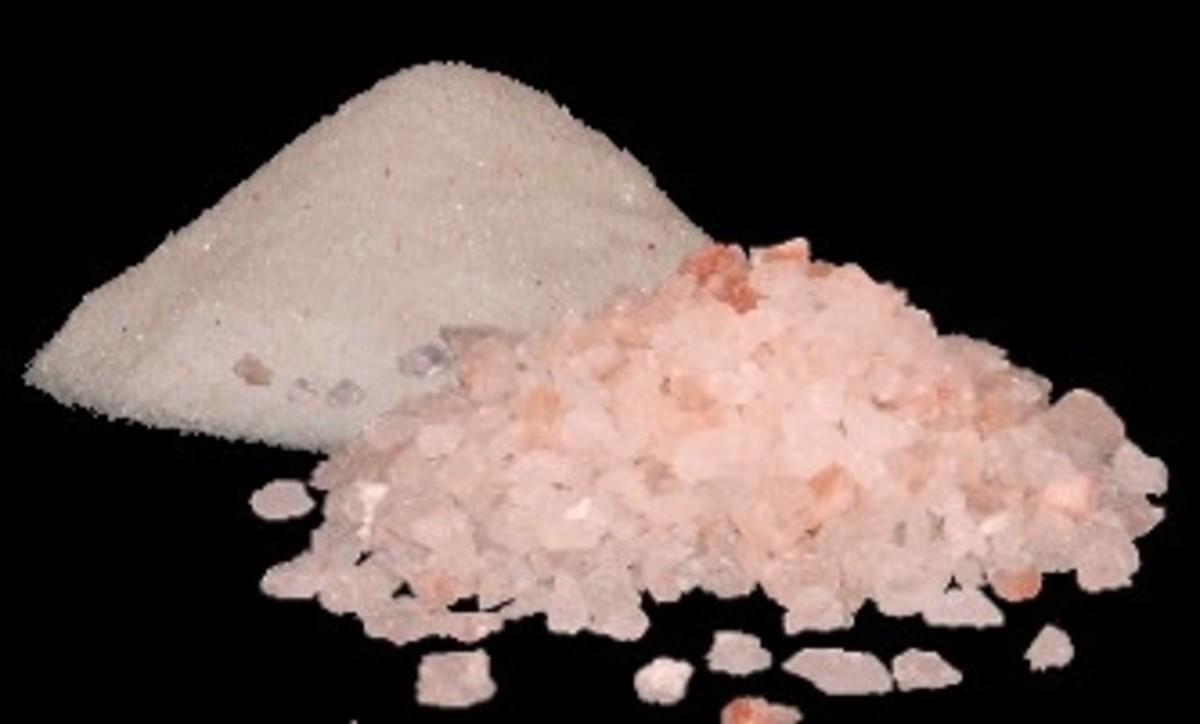 Himalayan crystal pink salt