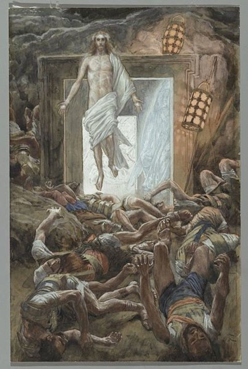 """Resurrection"" by JJ Tissot, late 1800's.  Currently in Brooklyn Museum"