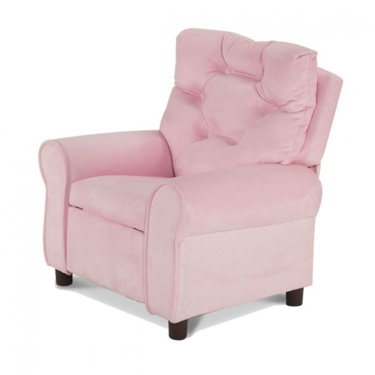 Pink Kids recliner for girls