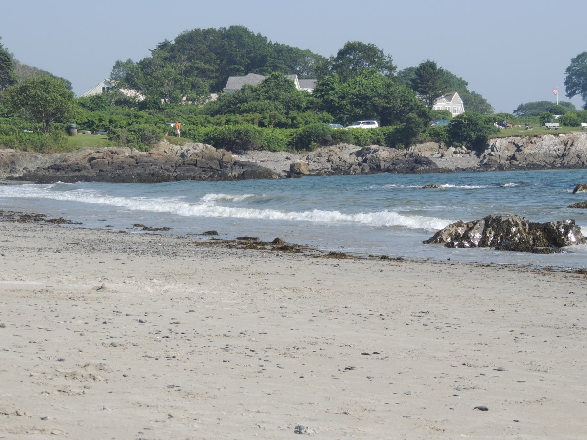 Nice Beach off of Ocean Avenue in Kennebunkport, Maine