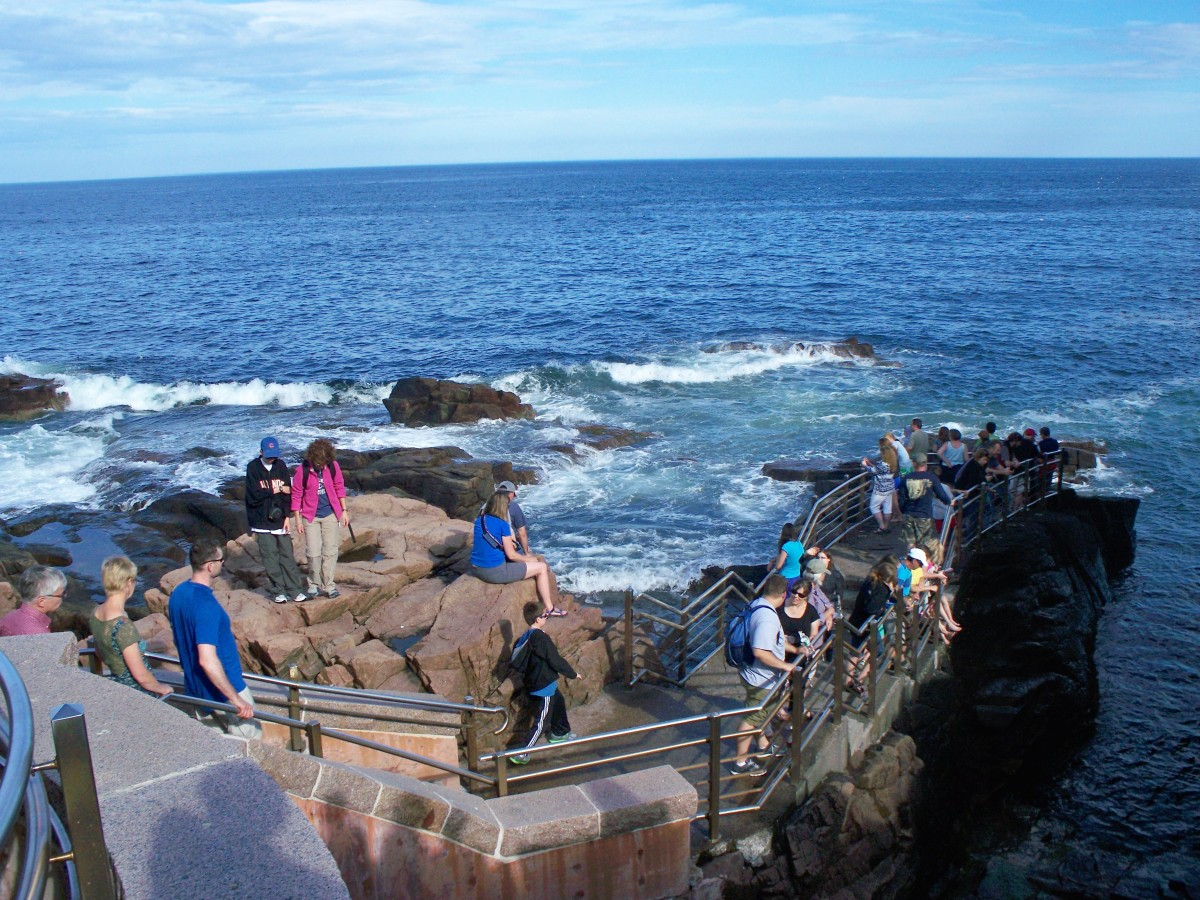 Thunder Hole @ Acadia National Park
