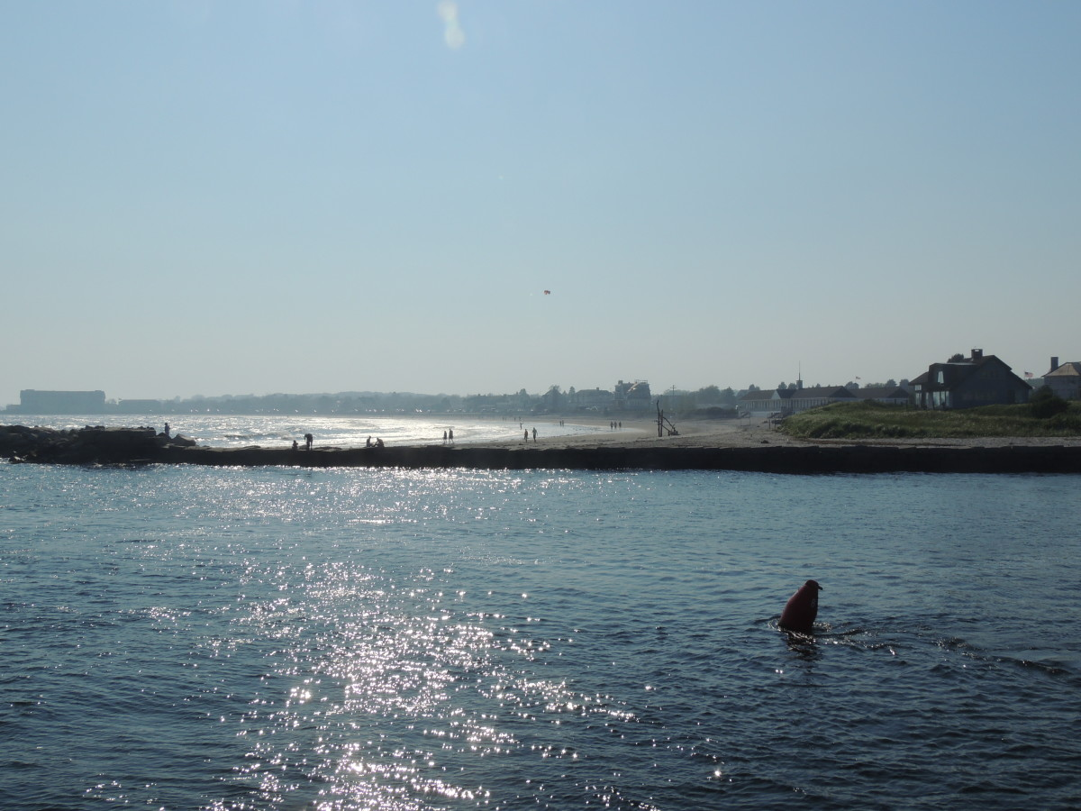 Large Beach in Kennebunkport
