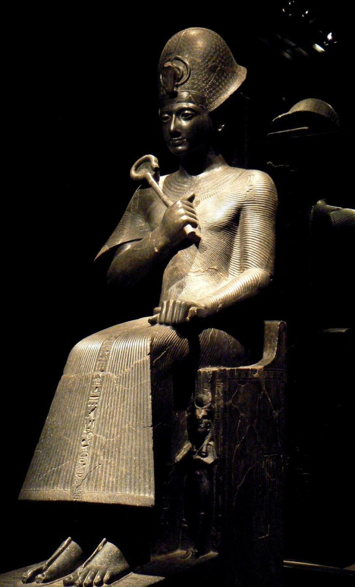 Seated Statue of Ramesses II