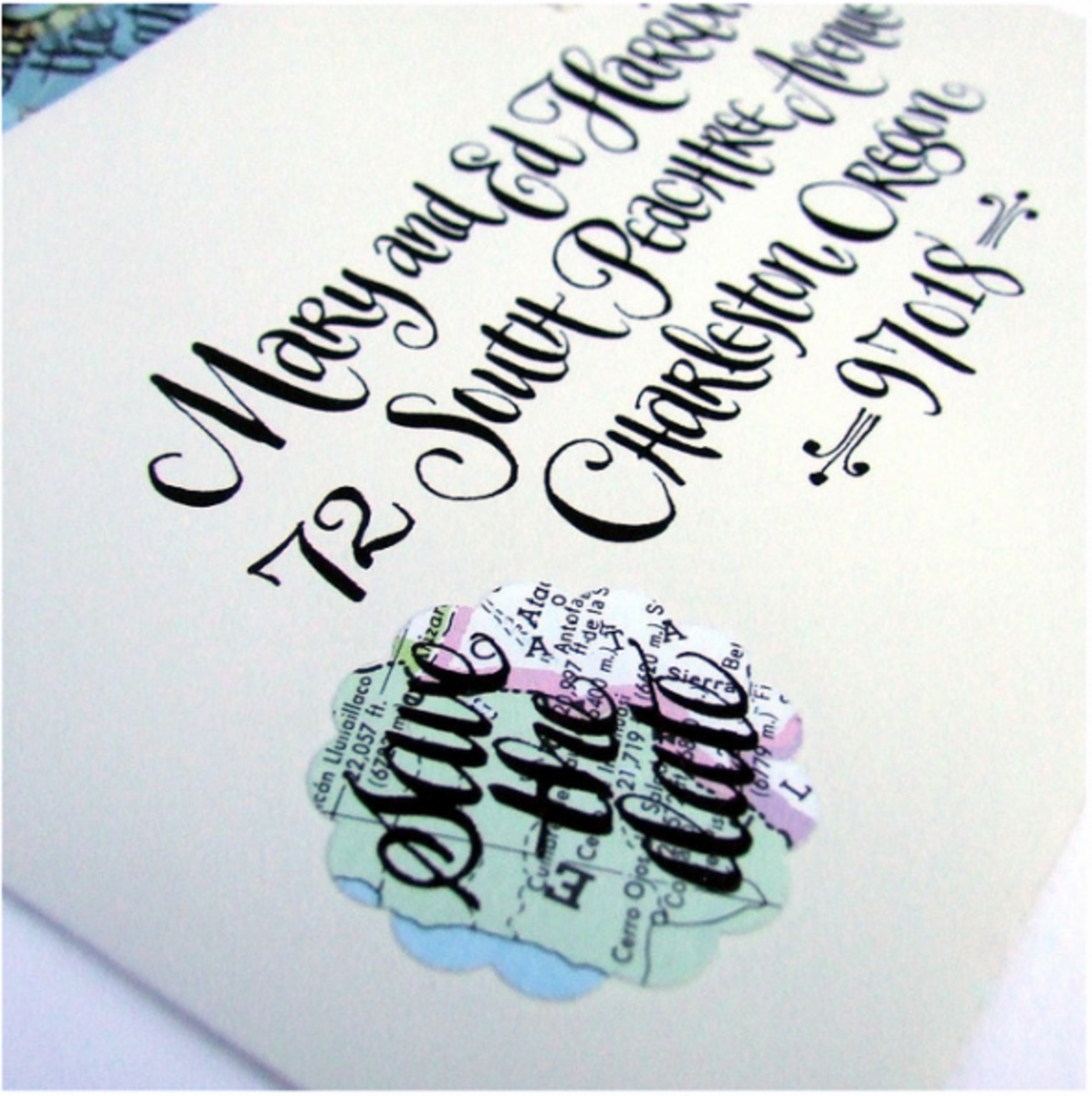 Calligraphy is very popular for weddings especially.