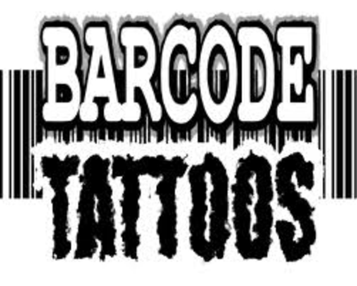 Barcode Tattoo Designs And Meanings-Barcode Tattoo Ideas And Pictures