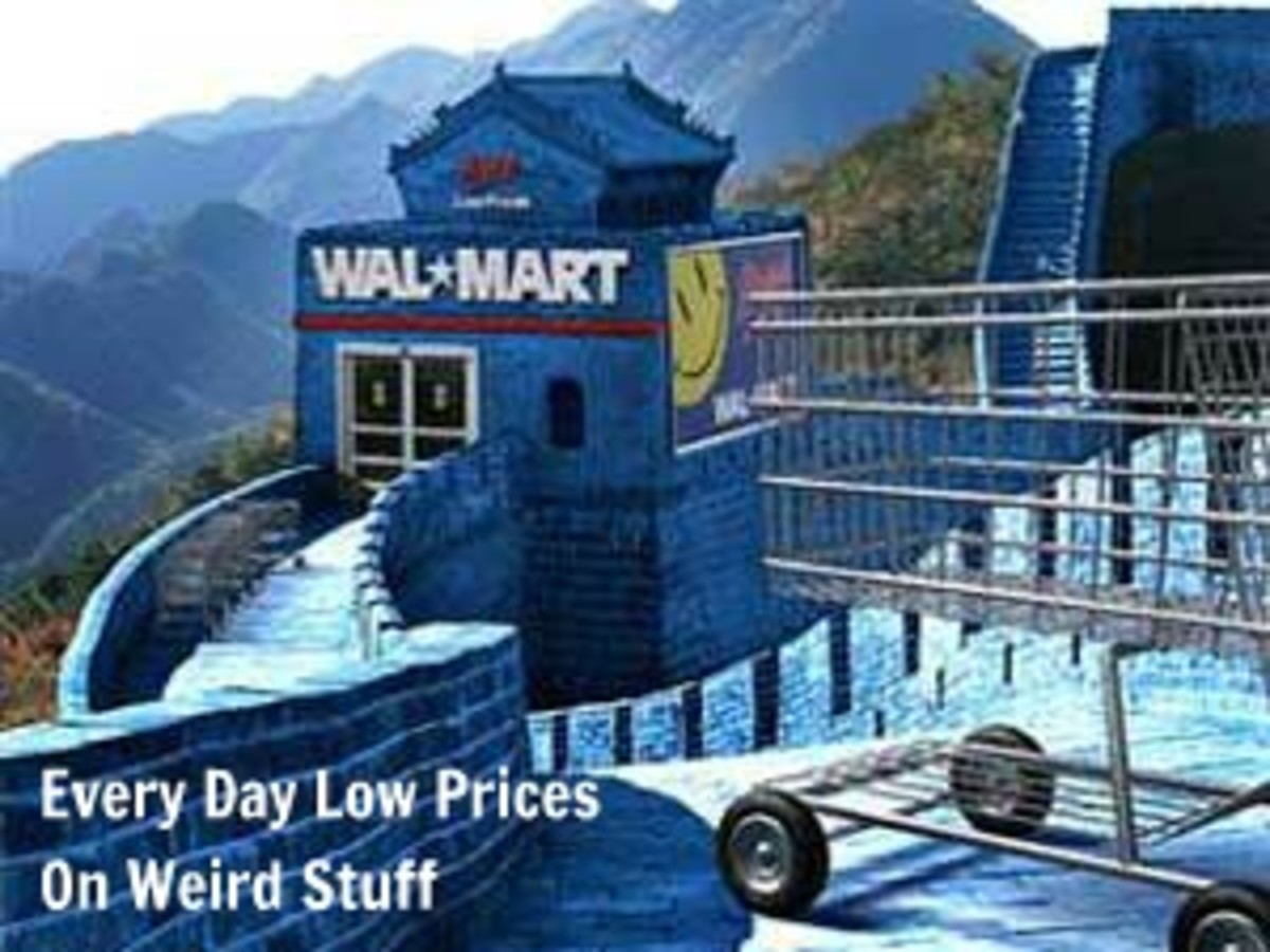 Walmart China: Every Day Low Prices On Weird Stuff