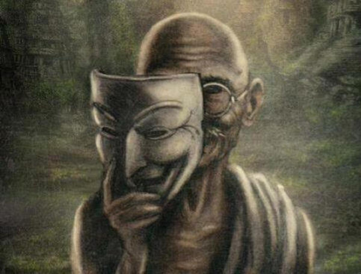 """""""First they ignore you, then they laugh at you, then they fight you, then you win."""" -Gandhi"""