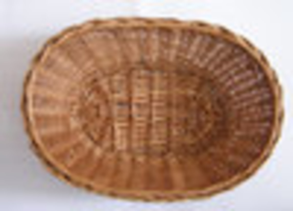 Keep your baskets simple and concentrate on what is inside and the presentation.