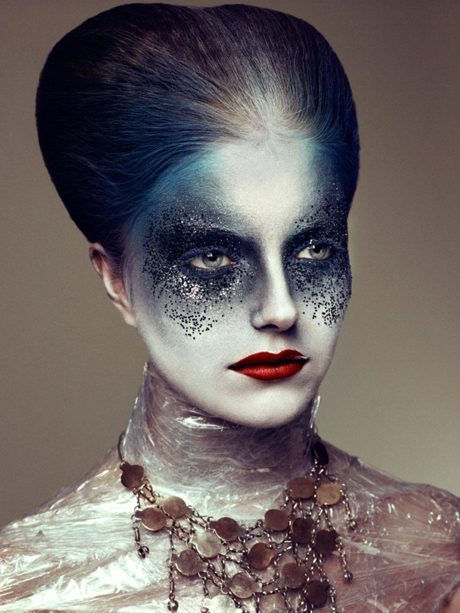 Extreme, Strange, Bizarre, Unique Makeup Looks, Tips and Tutorials