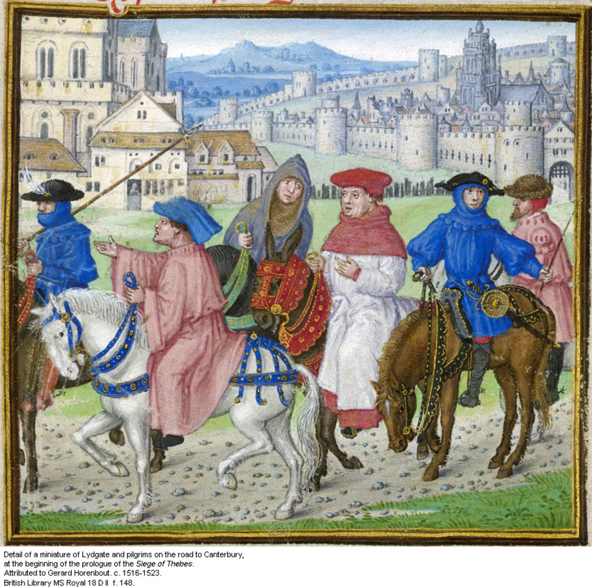 "Lesson Plan for Chaucer's The Canterbury Tales: Analyzing Character in ""The General Prologue"""