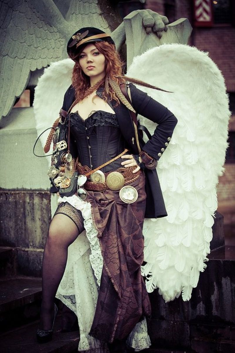 Steampunk Angel With Attitude