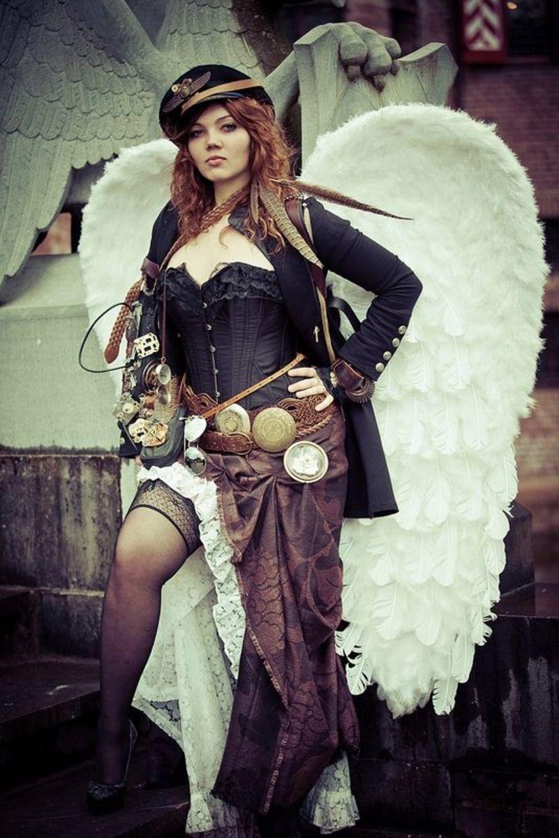 Steampunk Angel With Attitude
