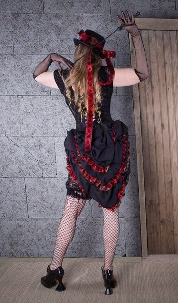 Steampunk Costume With Stockings