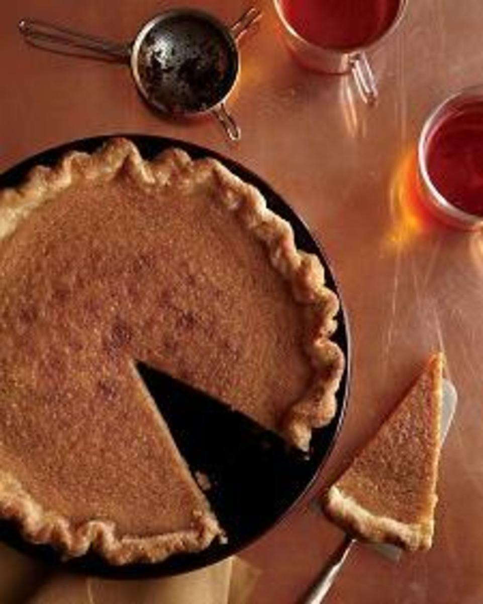 Brown Sugar Pie  has been made in the American south for at least three hundred years.