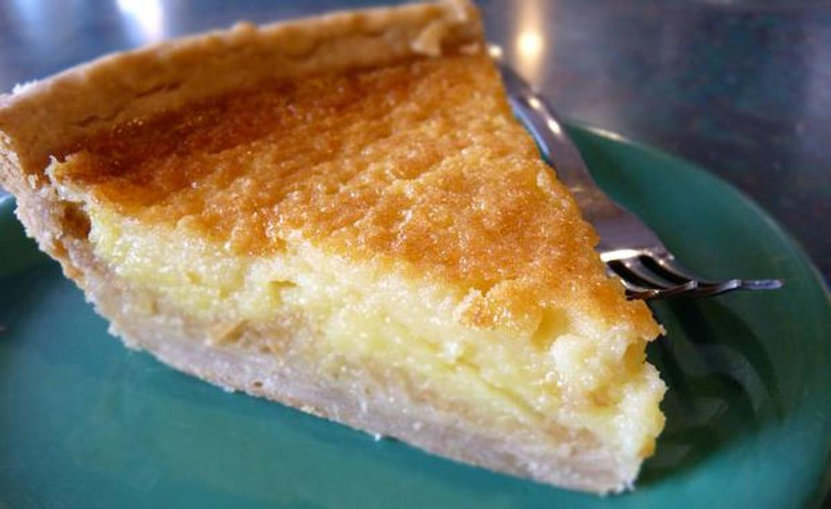 The Lemon Chess Pie Is A Delicious Southern Classic.