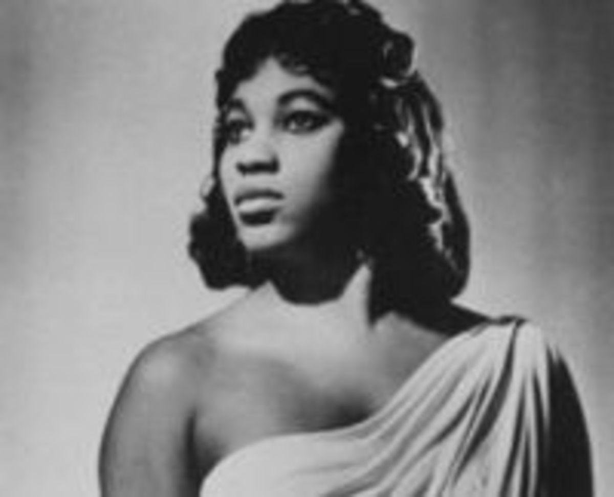 Leontyne Price (1927-), 1st Black woman to become a leading prima donna at the Metropolitan Opera