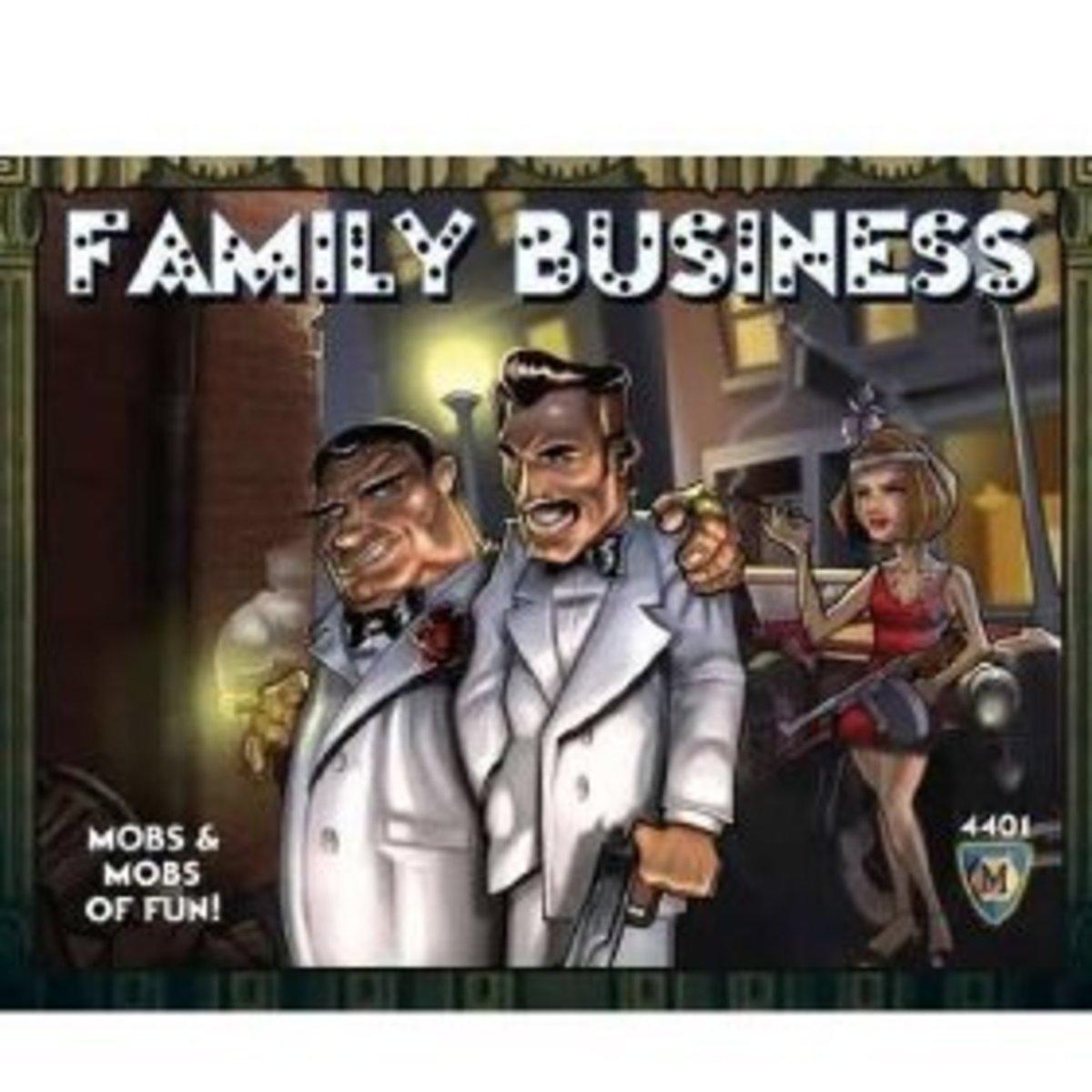 Family Business: Mafia Card Game Rules