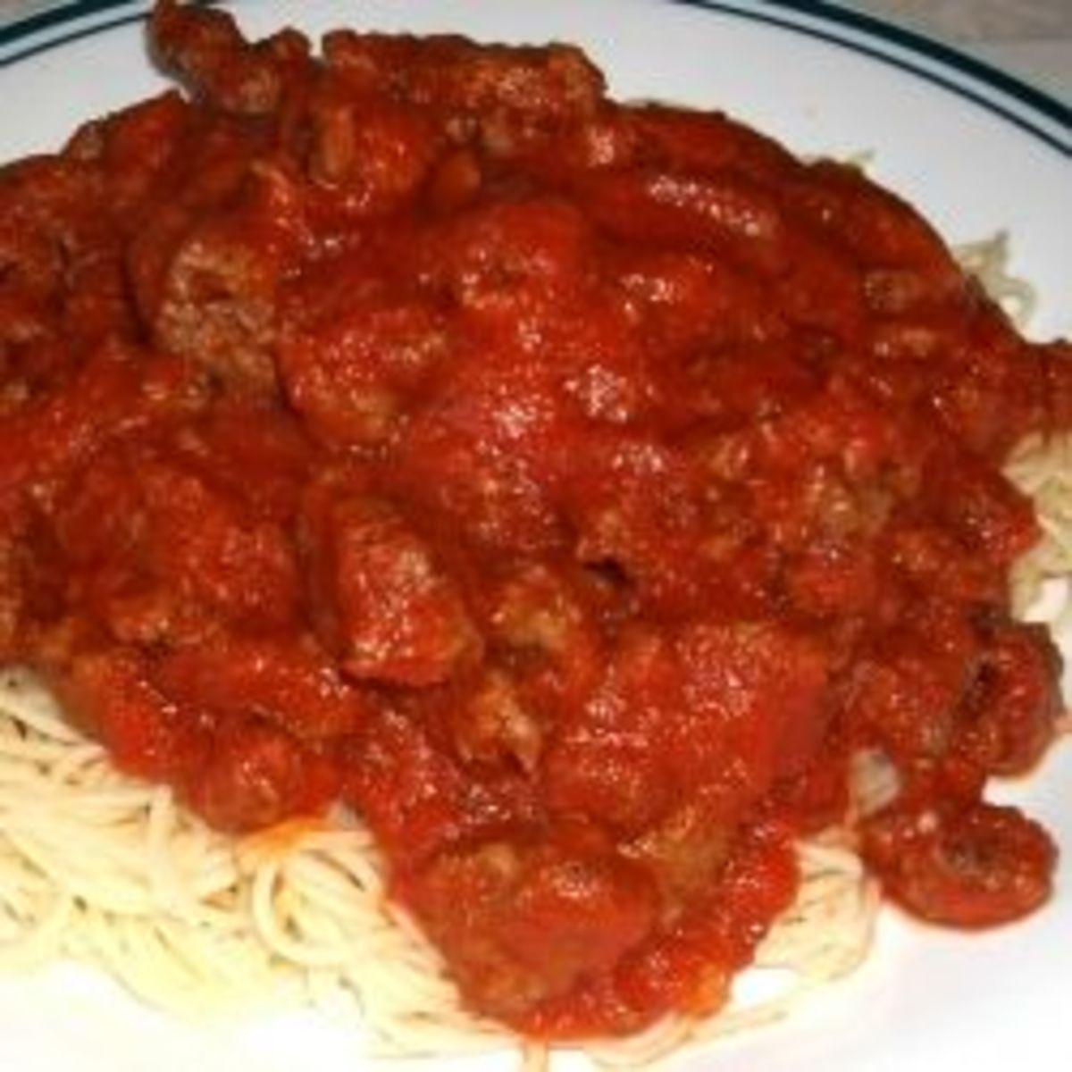 Venison Spaghetti Recipe