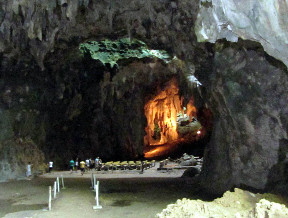 The Cathedral - One of the seven chambers of the Callao Cave at Peñablanca, Tuguegarao
