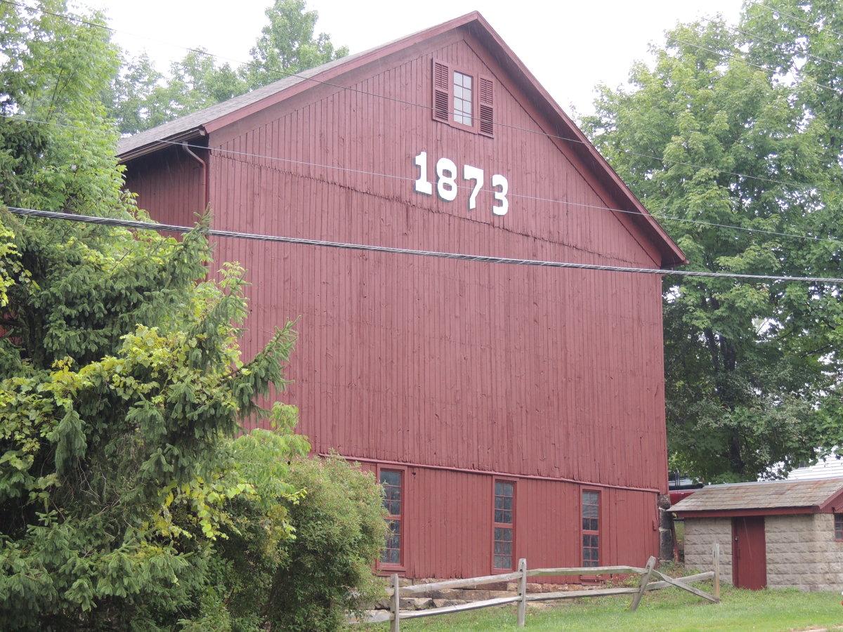 This barn is around the corner from my condo development.