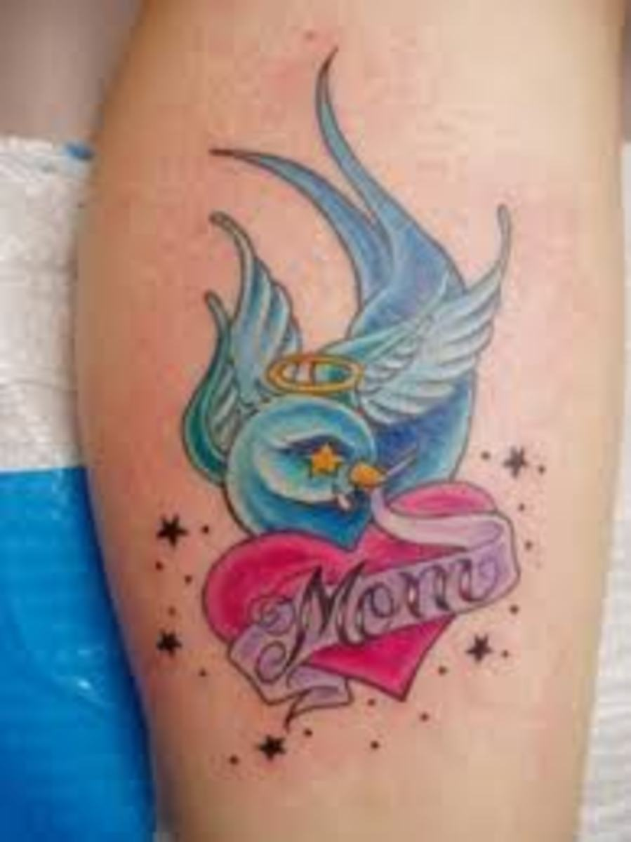 Mother tattoos and designs mother tattoo meanings and for Don t tell mom tattoo
