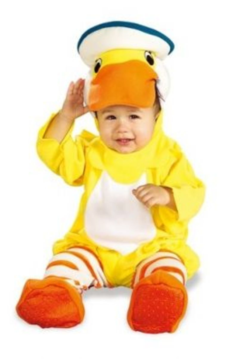 Rubies Costume Co. EZ-On Romper Costume, Rubber Ducky